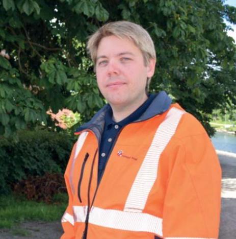 Andreas Emanuelsson. Foto: Trollhättans kommun